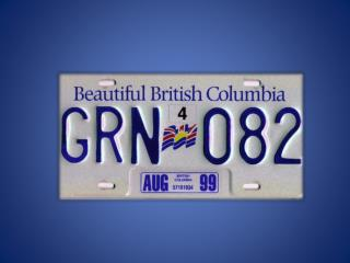 British Columbia  Geography …..
