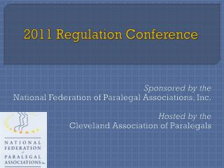 2011 Regulation Conference