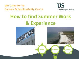 Welcome to the  Careers & Employability Centre