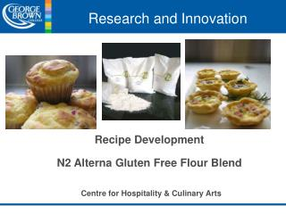 Recipe Development N2  Alterna  Gluten Free Flour Blend