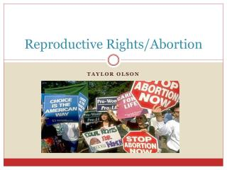 Reproductive Rights/Abortion