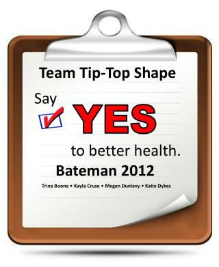 Team Tip-Top Shape