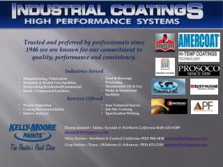 Manufacturing / Fabrication Hospitals & Health Care Facilities Fireproofing Residential/Commercial Retail / Commercial