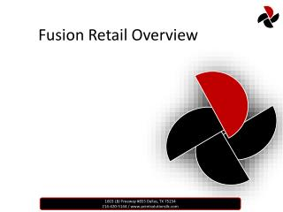 Fusion Retail Overview