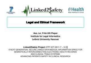 Legal and Ethical Framework