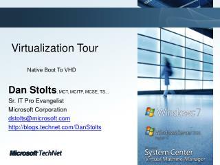 Virtualization Tour