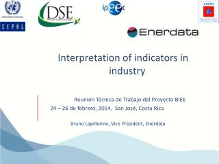 Interpretation of indicators  in industry
