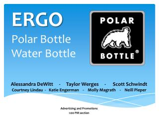 ERGO Polar Bottle Water Bottle