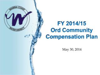 FY 2014/15  Ord  Community Compensation Plan