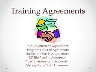 Training Agreements