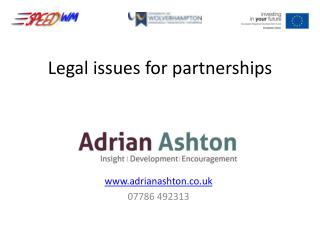 Legal issues for partnerships