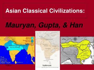 han china and mauryan gupta
