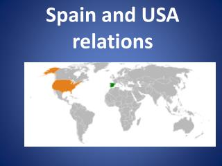 Spain and USA relations