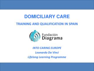 TRAINING AND QUALIFICATION IN SPAIN