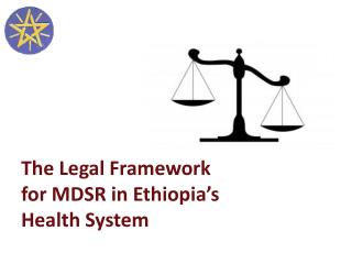 The Legal Framework for MDSR in Ethiopia's Health System