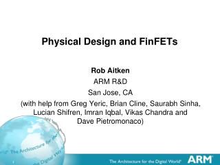 Physical Design and FinFETs