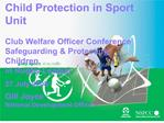 child protection in sport