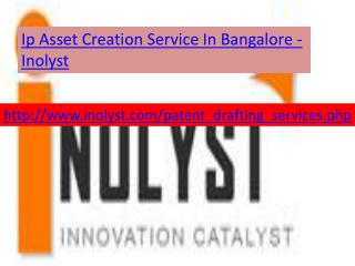 ip asset creation service in bangalore