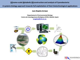 GE nome -scale  M etabolic  RE construction and analysis of Cyanobacteria:
