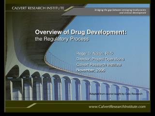 overview of drug development: the regulatory process