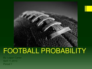 FOOTBALL PROBABILITY