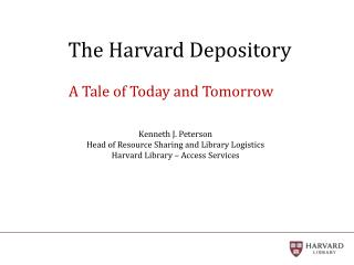 The Harvard Depository