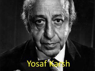 Yosaf Karsh