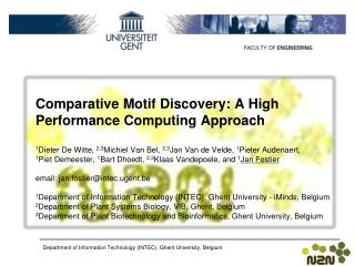 Comparative Motif Discovery: A High Performance Computing Approach