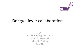 Dengue fever collaboration