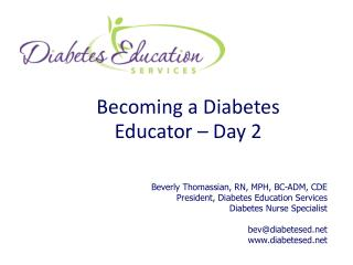 Becoming a Diabetes Educator – Day 2