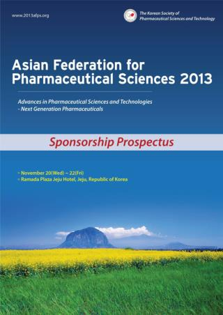 Asian Federation for Pharmaceutical Sciences 2013