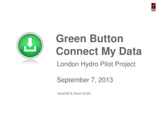 Green Button  Connect My Data