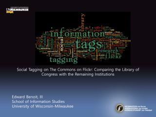 Social Tagging on The Commons on Flickr: Comparing the Library of Congress with the Remaining Institutions