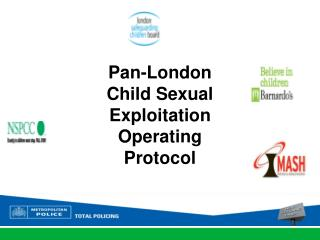 Pan-London Child Sexual Exploitation Operating Protocol