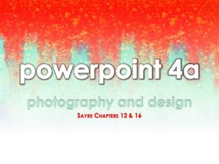 powerpoint  4a