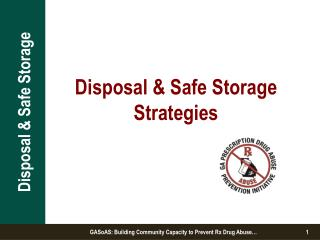 Disposal & Safe Storage Strategies