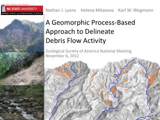 A Geomorphic Process-Based Approach to Delineate Debris Flow Activity