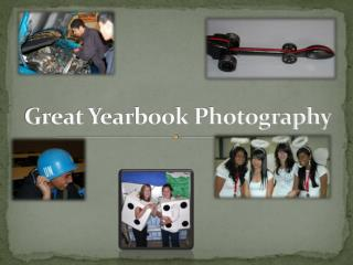 Great Yearbook Photography