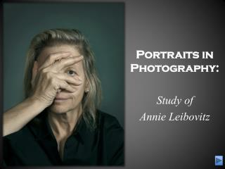 Portraits in Photography: