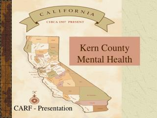 Kern County  Mental Health