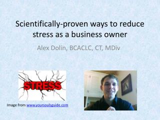 Scientifically-proven  ways to reduce stress as a business owner