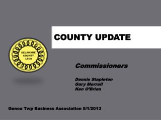County Update