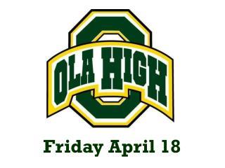 Friday April 18