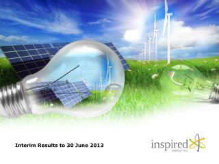 Interim Results to 30 June 2013