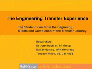 The Engineering Transfer Experience
