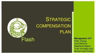 Strategic compensation plan