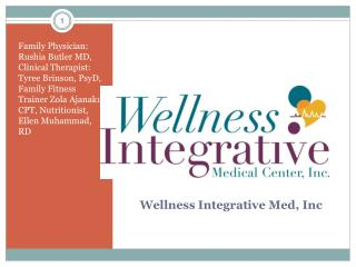 Wellness Integrative Med, Inc