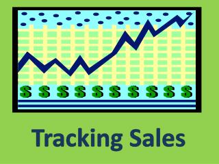 Tracking Sales
