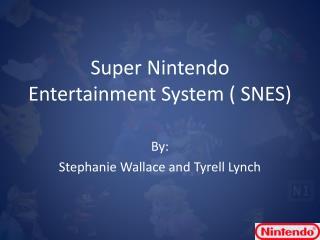 Super Nintendo Entertainment System ( SNES)