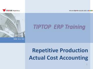 TIPTOP   ERP Training